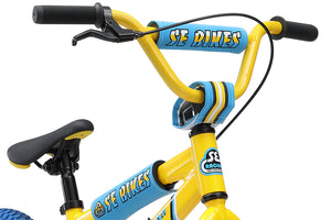 "SE Bikes LIL' FLYER 16"" BMX (Yellow)"