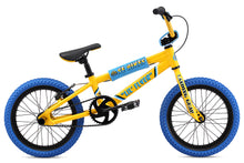 "Load image into Gallery viewer, 16"" SE Bikes LIL' FLYER BMX YELLOW"