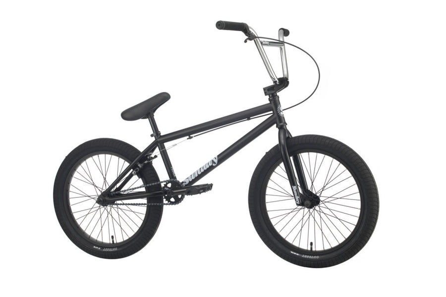 "Sunday Primer 18"" BMX (Matte Black)"