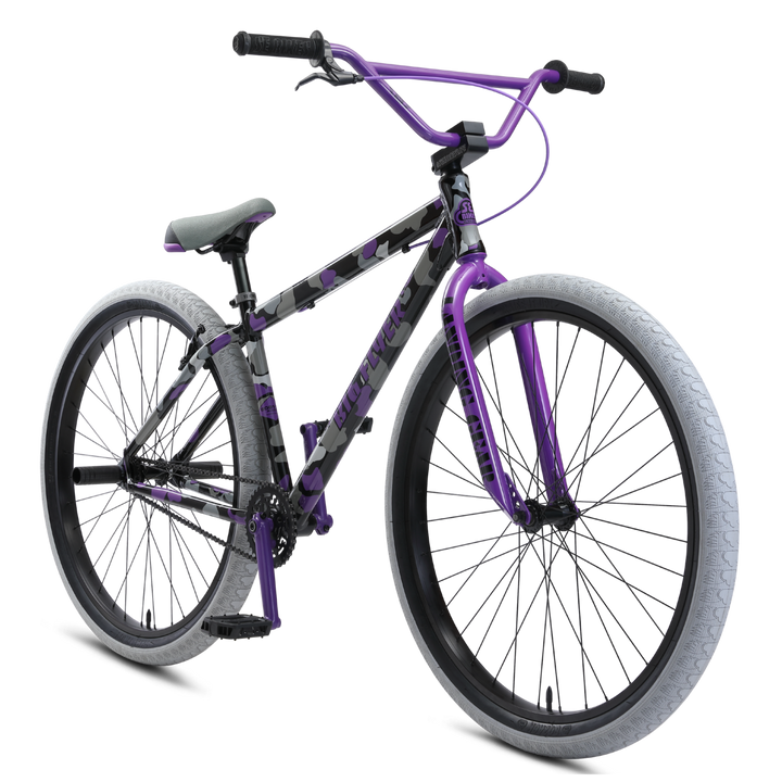 "SE Bikes Big Flyer 29"" Bike (Purple Camo)"
