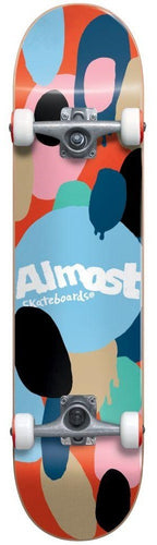 Almost Spotted Mini Complete Skateboard (7.0