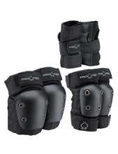 Load image into Gallery viewer, Protec Street Gear Jr Pads Set (Black)