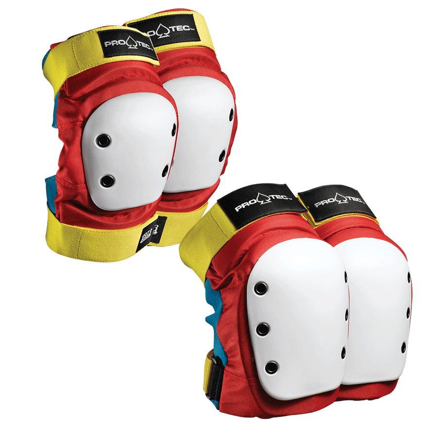 Protec Street Knee & Elbow Pads Pack - Adult (Retro)