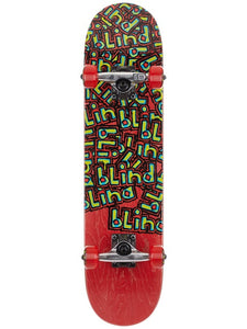 Blind Letter Drop Red Premium Complete Skateboard 7.0 x 29