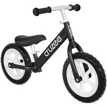 Load image into Gallery viewer, Cruzee UltraLite Balance Bike - Black