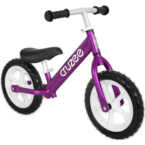 Cruzee UltraLite Balance Bike - Purple