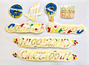 Colony Sweet Tooth BMX Frame Sticker Pack