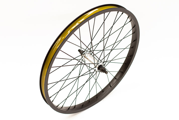 "Colony Horizon Front 20"" BMX Wheel (Black / Polished)"