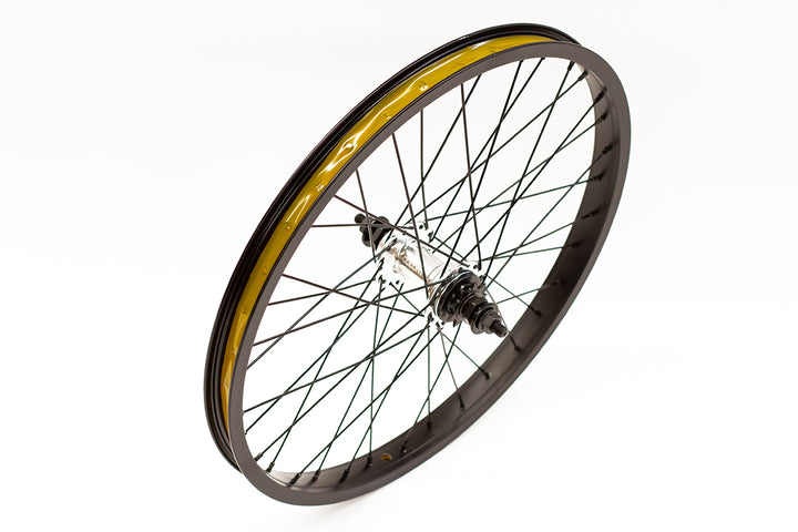"Colony Horizon 20"" Rear BMX Wheel (Black / Polished)"