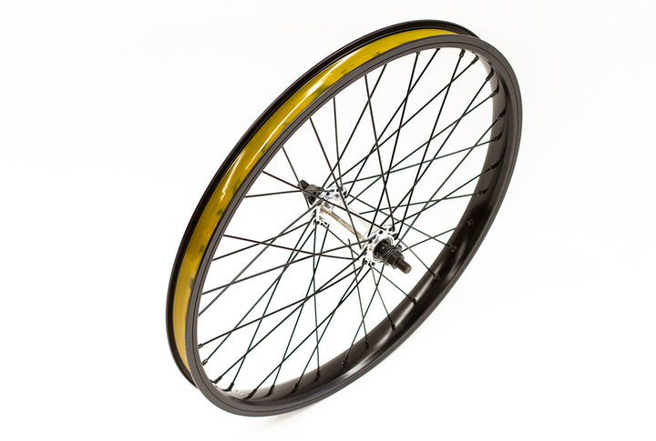 "Division Front 20"" BMX Wheel (Black / Polished)"