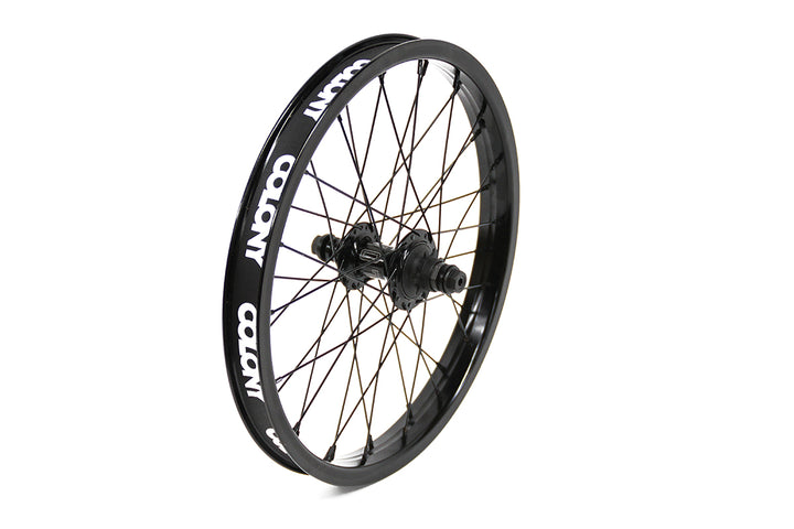 "Colony Pintour 18"" Rear BMX Wheel (Black)"
