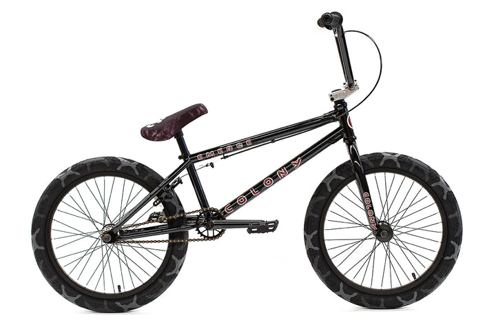 "Colony Emerge 20"" BMX (Black / Grey Camo)"