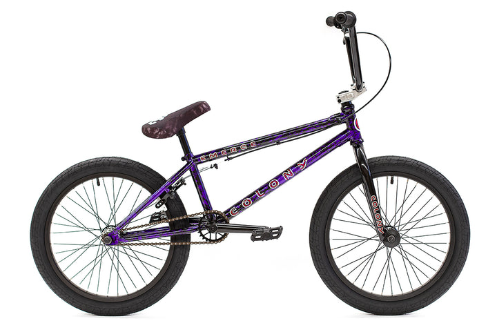 "Colony Emerge 20"" BMX (Purple Storm)"