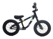 "Load image into Gallery viewer, 12"" Forgotten Critter Balance Bike Gloss Black"