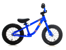 "Load image into Gallery viewer, 12"" Forgotten Critter Balance Bike Neon Blue"