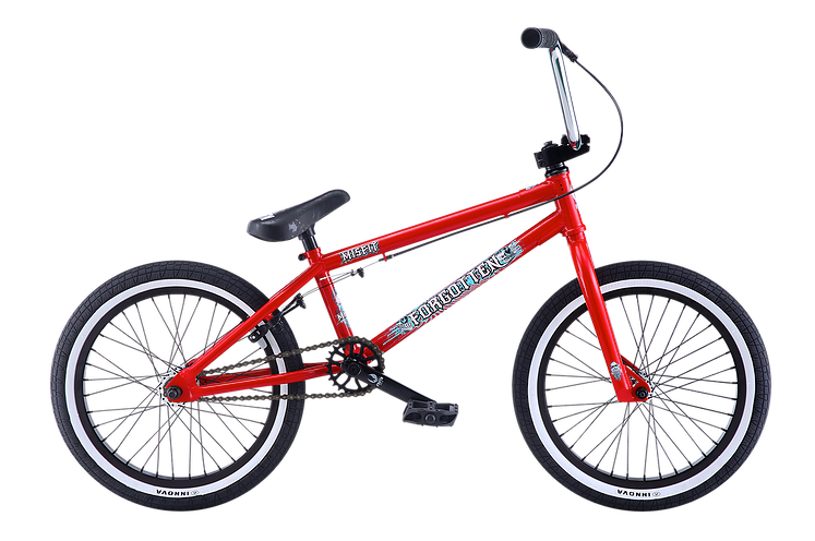 "Forgotten Misfit 18"" BMX (Gloss Red)"