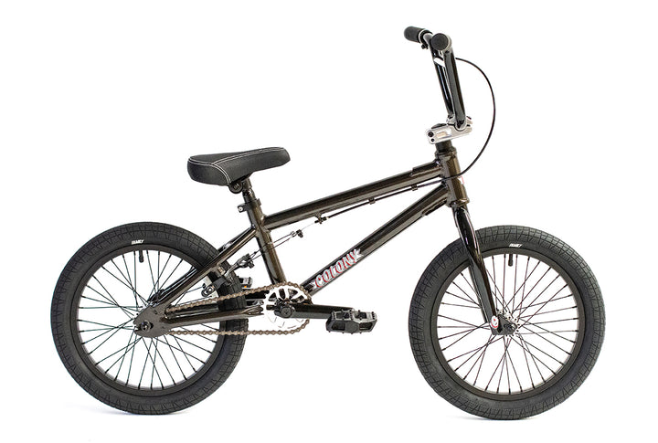 "Colony Horizon 16"" Micro Freestyle BMX (Metal Grey)"