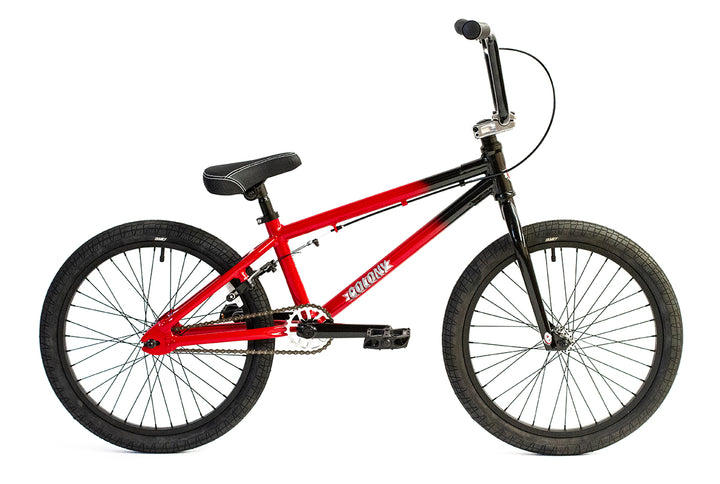"Colony Horizon 20"" Micro Freestyle BMX (Red/Black Fade)"
