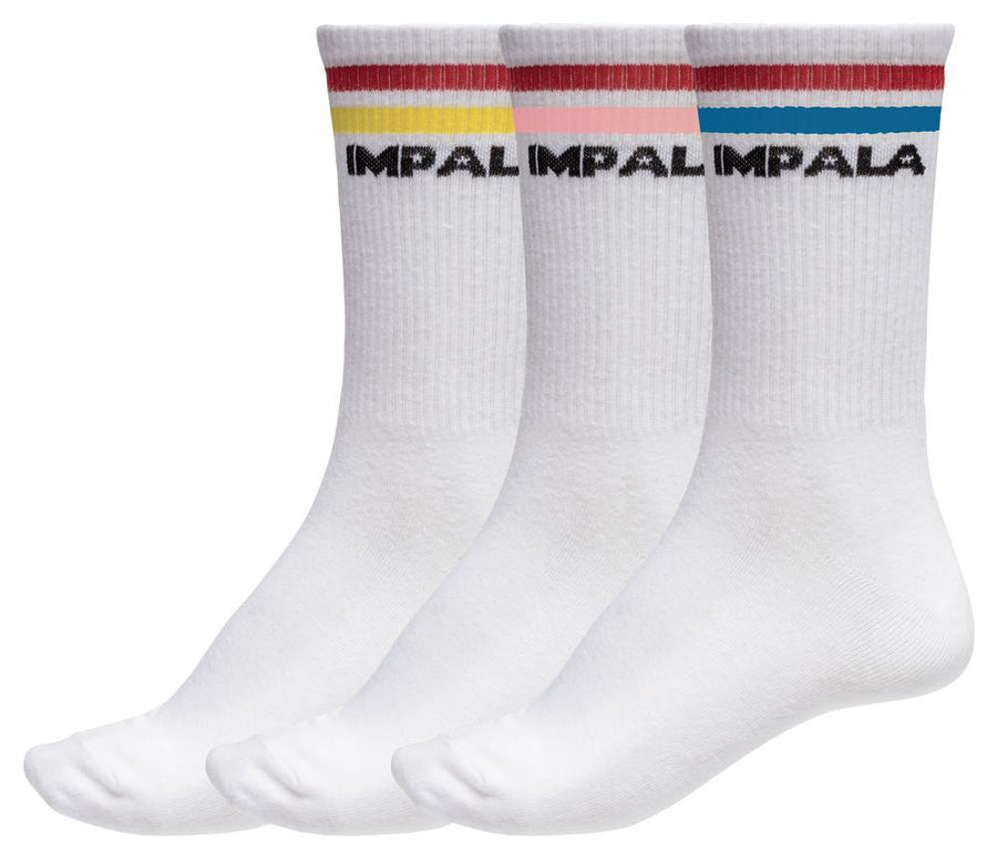 Impala Stripe Sock 3 Pack