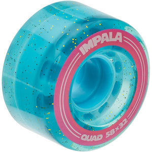 Impala Wheels - 4 Pack (Blue Glitter)