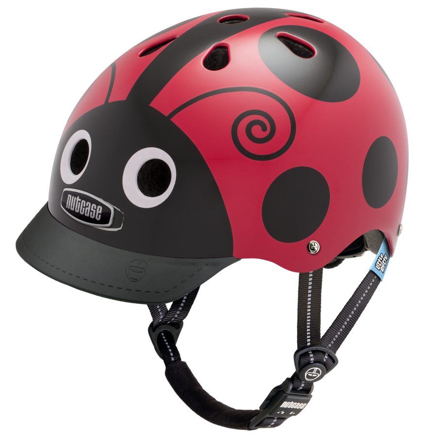 Nutcase Helmet - Little Nutty XS (Dark Frogs)