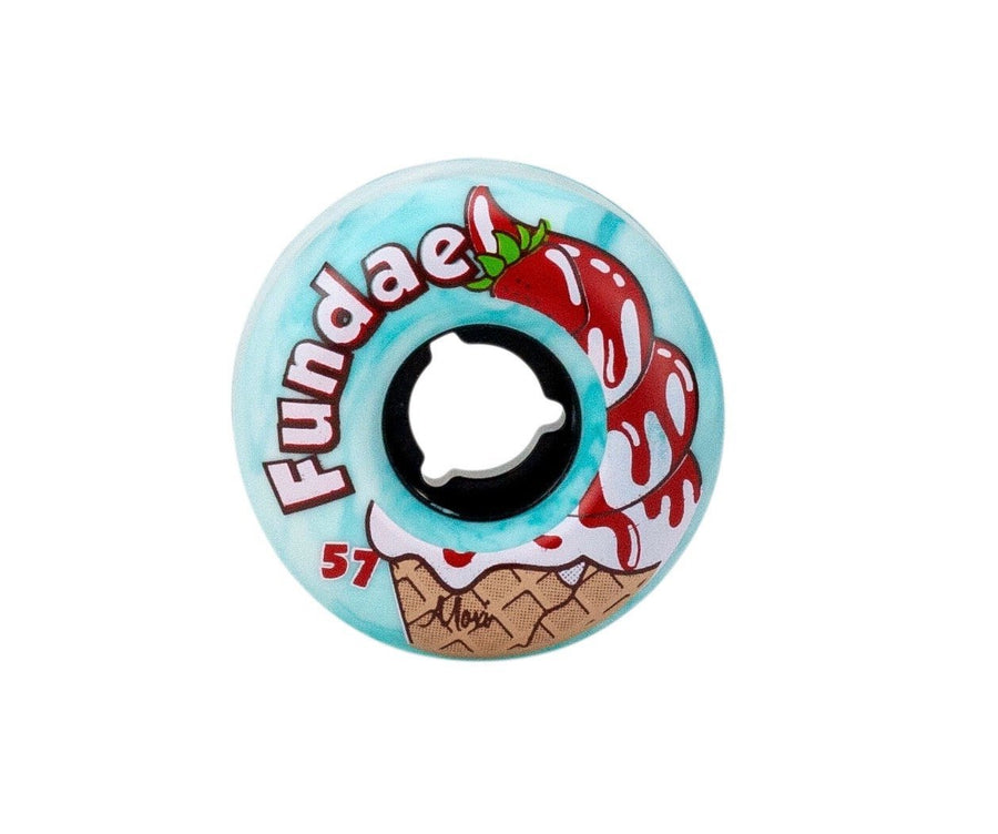 Moxi Fundae Hybrid Wheels 57mm (Teal)