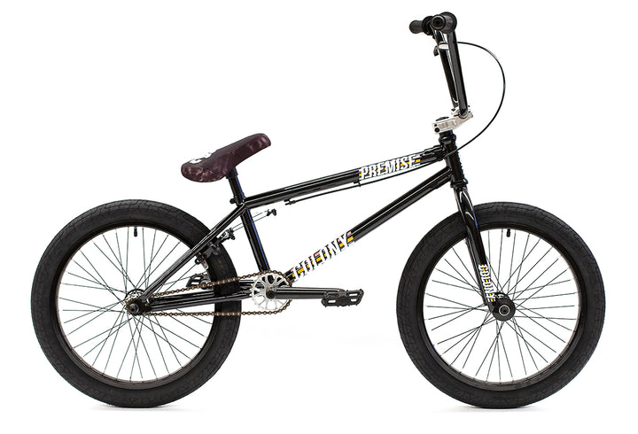 "Colony Premise 20"" BMX (Black / Polished)"