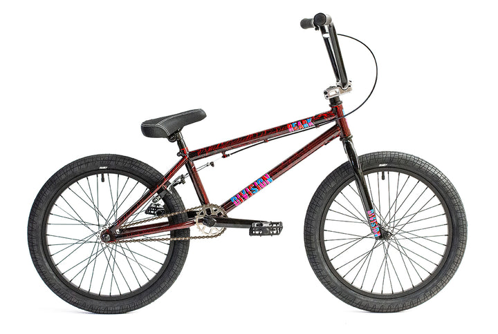 "Division Reark 20"" BMX (Crackle Red)"
