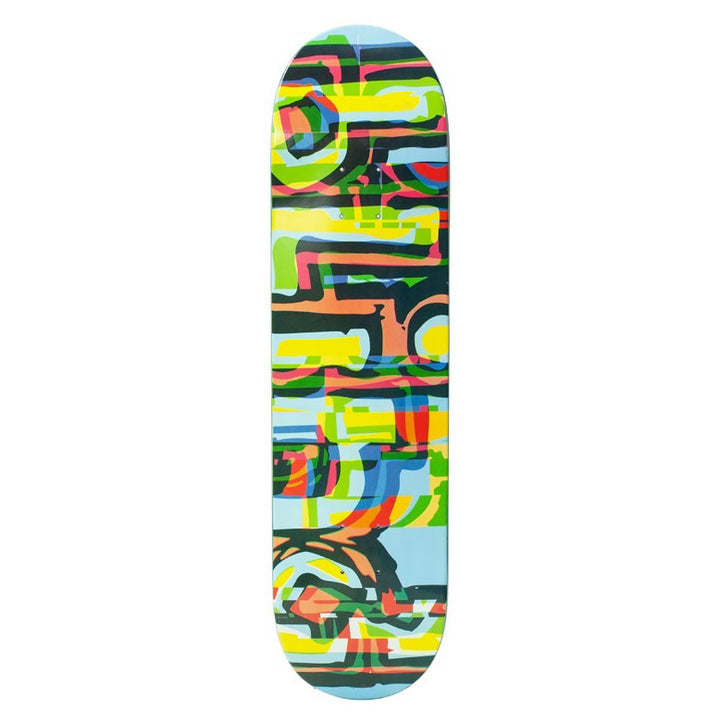 "Blind Glitch RHM Blue Skateboard Deck (8.0"")"