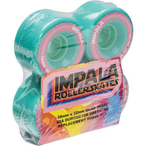 Impala Wheels - 4 Pack (Aqua)