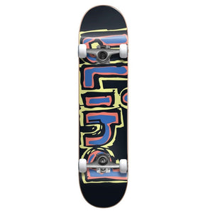 "Blind - Matte OG  Complete Skateboard Yellow Red Blue (7.75"")"