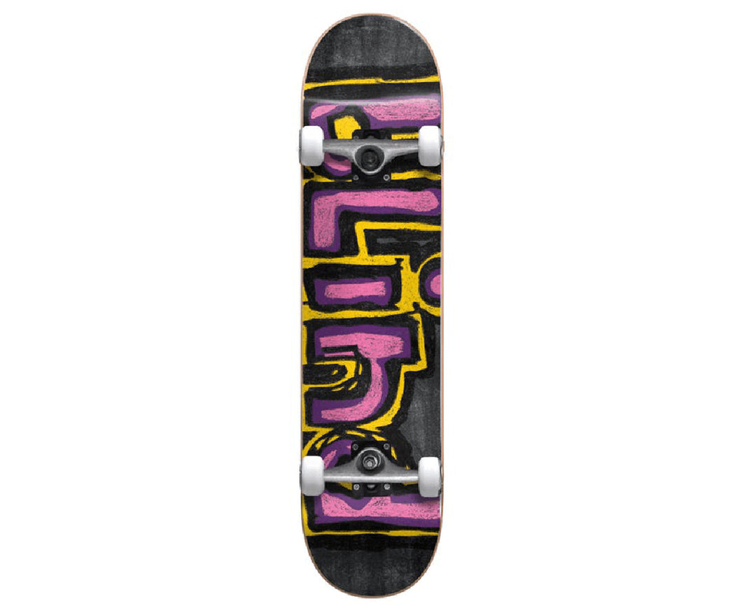 Blind - Chalk Yellow, Purple, Pink Complete Skateboard  (8.0