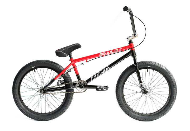 "Division Brookside 20"" BMX (Black / Red Fade)"