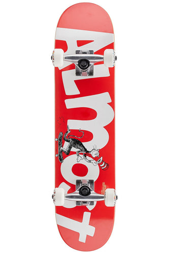 Almost Cat Face Youth FP Complete Skateboard (7.0