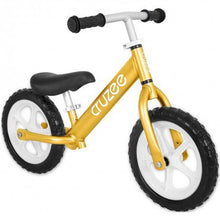 Load image into Gallery viewer, Cruzee UltraLite Balance Bike (Gold)