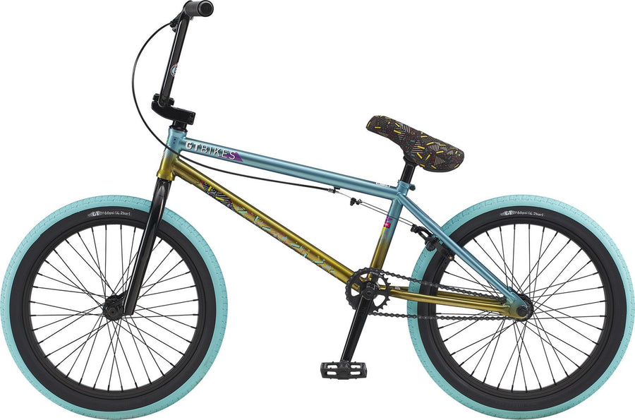 "GT Mercado Team Comp 20"" BMX (Mint / Yellow Fade)"