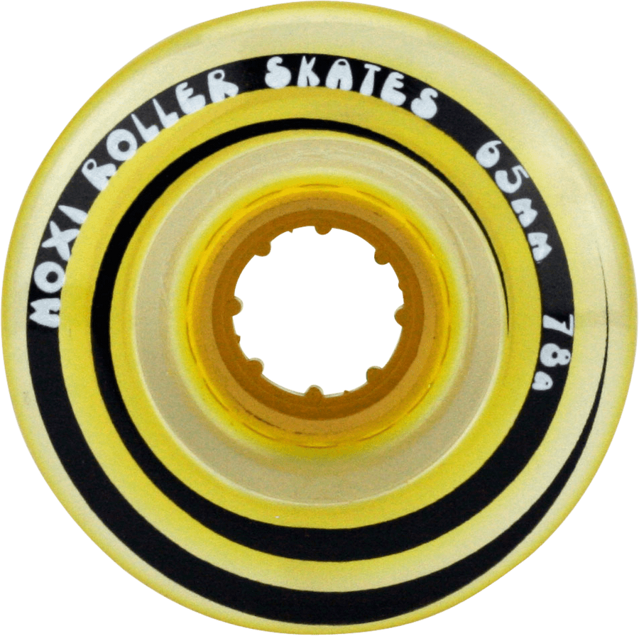 Moxi Gummy Wheels - 4 Pack (Yellow)