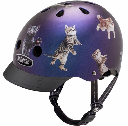 Nutcase Helmet - Space Cats!  Small