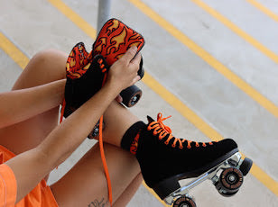 Chuffed Crew Collection Roller Skates (Fuegote)