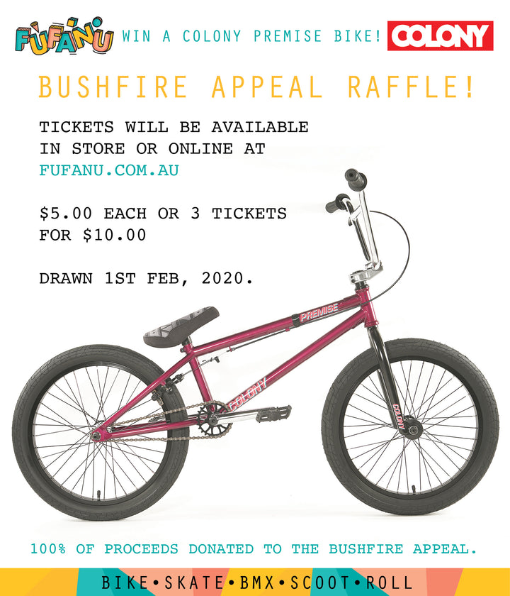 Bushfire Appeal Raffle Tickets