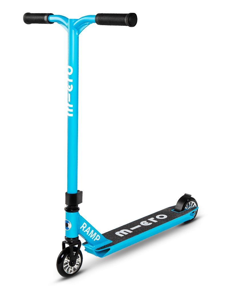 Micro Ramp Stunt Scooter (Cyan Blue)