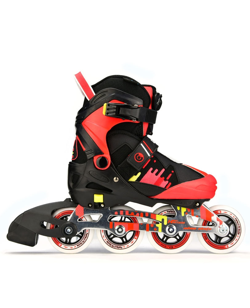 Micro Duality Inline Skates  (Black / Red)