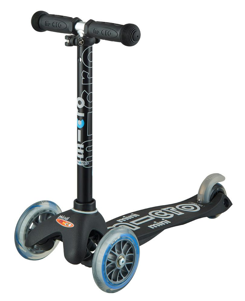 Mini Micro Deluxe Scooter (Black)