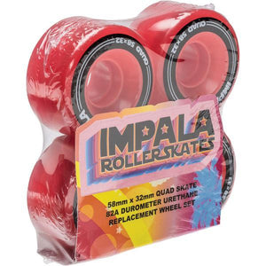 Impala Wheels - 4 Pack (Red)