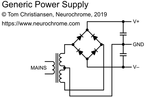 Generic power supply schematic