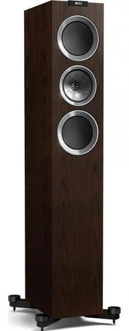 KEF R700 walnut finish