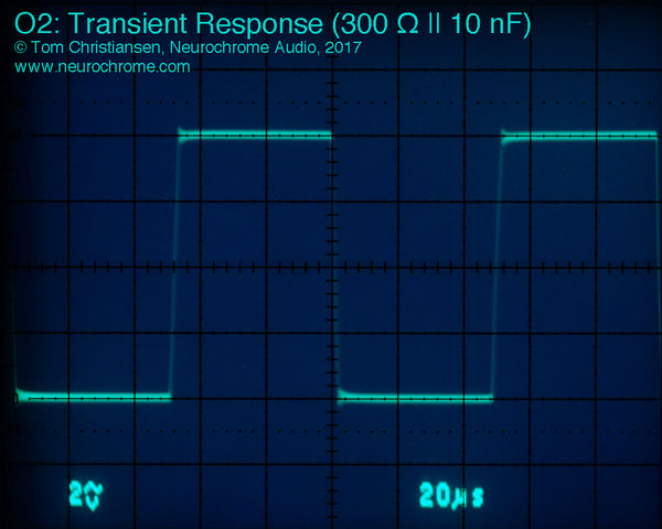 JDS Labs O2: Transient Response (300 Ω || 10 nF)