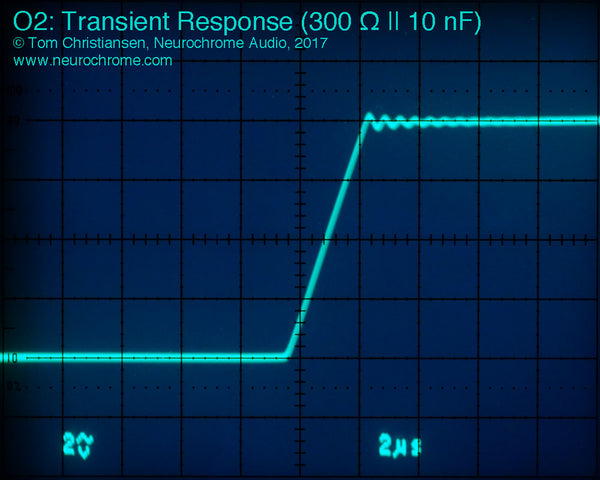 JDS Labs O2: Transient Response (300 Ω || 10 nF) - zoom