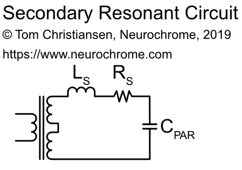 Transformer secondary resonant circuit