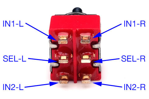 Selector switch connections